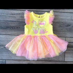 Batman baby girl dress